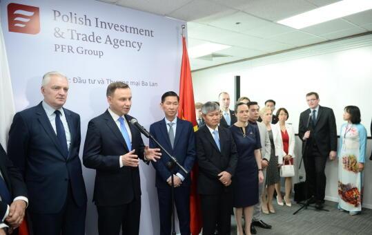 6db2d587148bc Prezydent Andrzej Duda otworzył w czwartek w Ho Chi Minhie na południu  Wietnamu Biuro Zagraniczne Polskiej Agencji Inwestycji i Handlu.