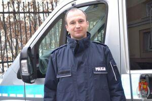 Policjant uratował życie 7-latkowi