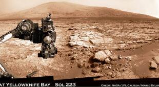 Panoramy Marsa z nowych zdjeć Curiosity (NASA)