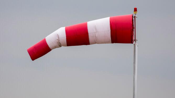 Uwaga na silny wiatr. <br />Prognoza zagrożeń IMGW
