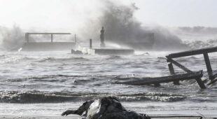 Gwałtowna pogoda we Włoszech (PAP/EPA)