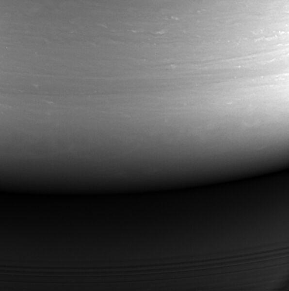 Ostatnie zdjęcie wykonane przez sondę Cassini