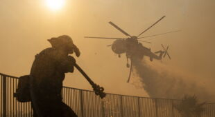 Pożar Saddleridge spustoszył ponad 1900 hektarów terenu