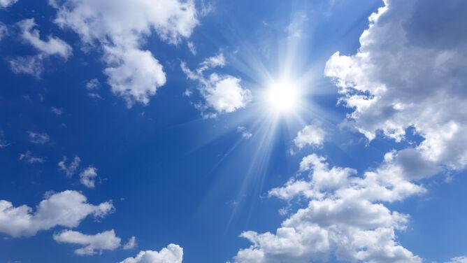 Prognoza pogody na dziś: przed nami przeważnie piękny i ciepły dzień