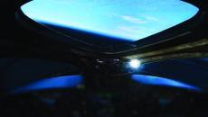 Zdjęcie z kokpitu SpaceShipTwo (Virgin Galactic 2018)