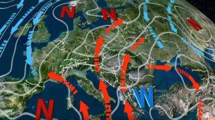 Pogodę w Polsce kształtuje wyż znad Bałkanów