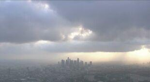 Burza w Los Angeles