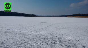 Jezioro Stelchno wydaje dźwięki