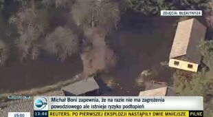 Minister Boni apeluje o ostrożność (TVN24)
